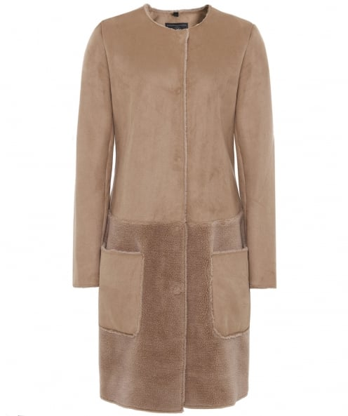 Rino and Pelle Faux Sheepskin Charo Coat
