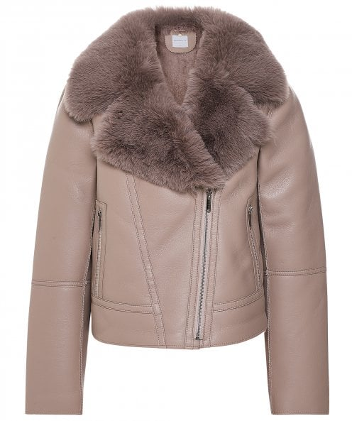 Rino and Pelle Lundy Faux Leather Biker Jacket