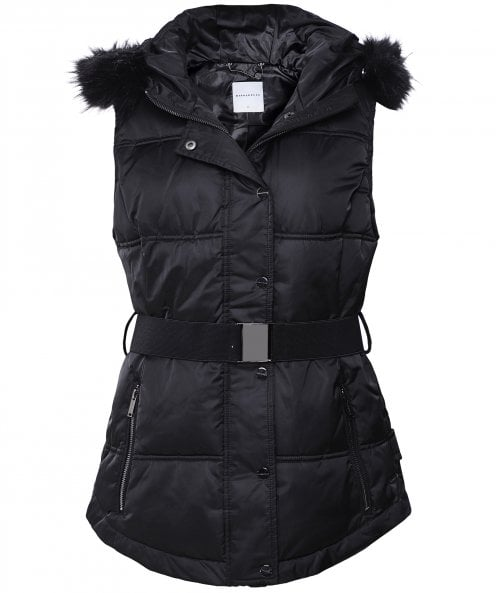 Rino and Pelle Sysa Faux Fur Trim Gilet