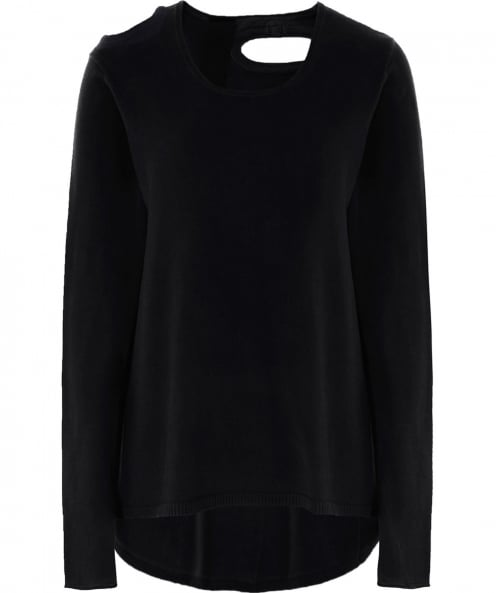 Rundholz Jersey Cut Out Jumper