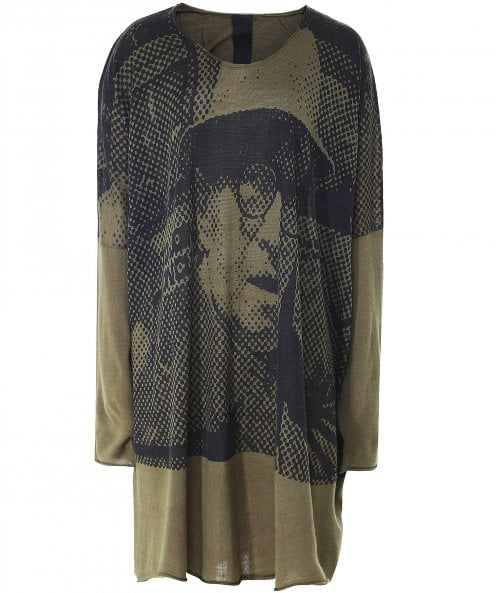 Rundholz Printed Knit Tunic