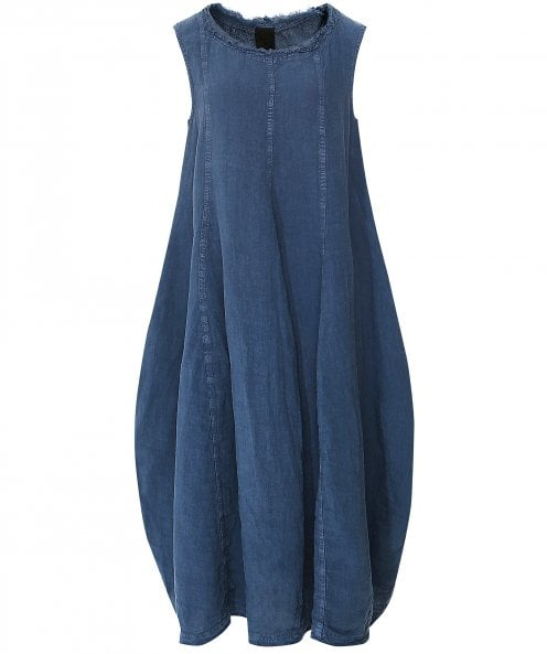 Rundholz Sleeveless Linen Dress