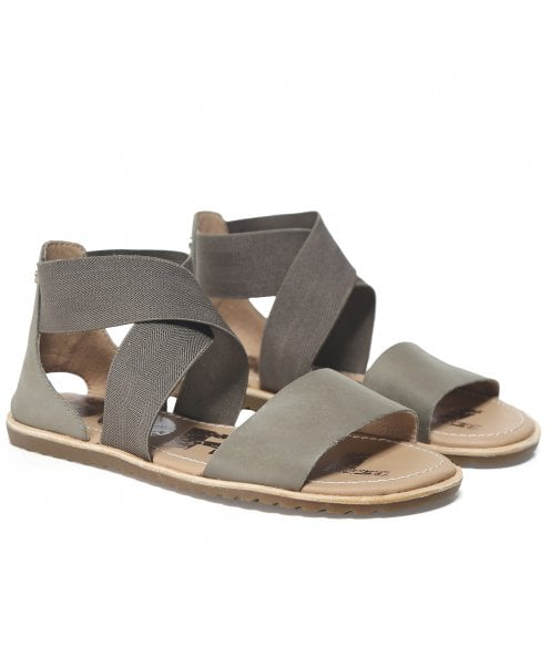 Sorel Leather Ella Sandals