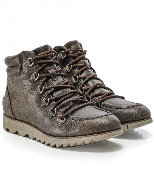 Sorel Leather Harlow Lace Boots
