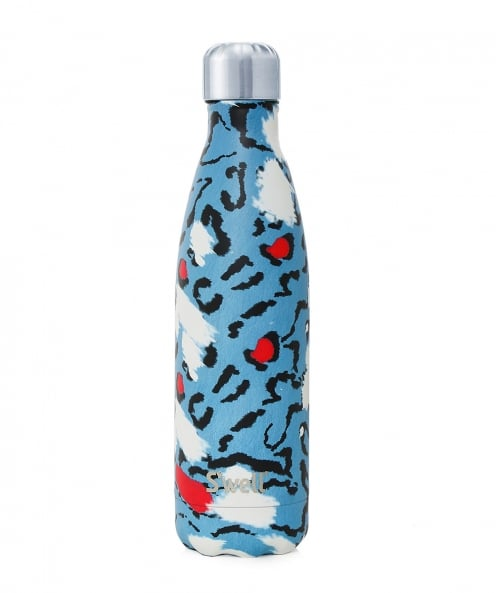 S'well 17oz Azure Leopard Water Bottle