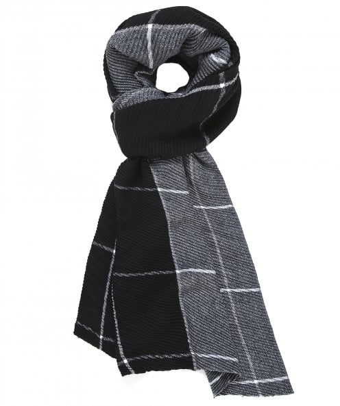 Thanny Checked Scarf