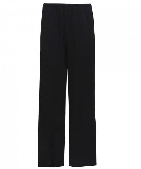Thanny Wide Leg Crepe Trousers