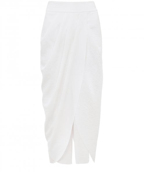 Crea Concept Trousers with Wrap-Over Skirt