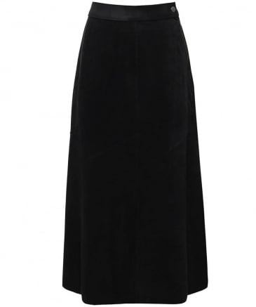 Suede Effect Yennie Skirt