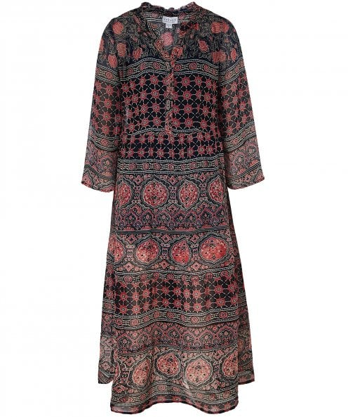 Velvet by Graham and Spencer Zendaya Monaco Print Dress