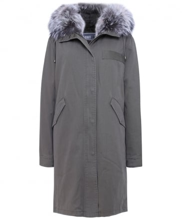 Long Fur Trim Parka
