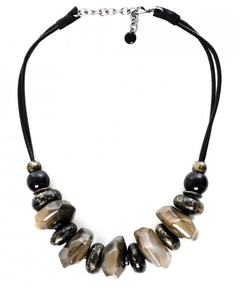 Zen Jewellery Neutral Beaded Necklace