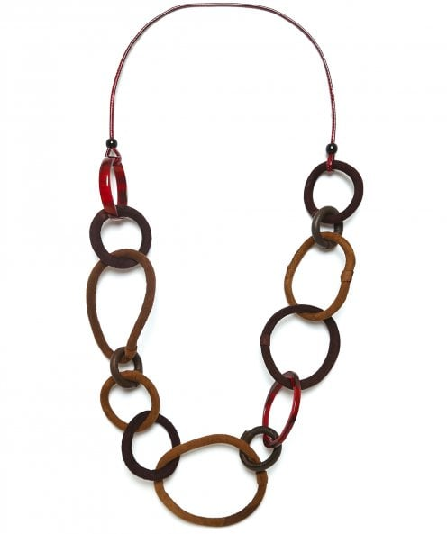 Zen Jewellery Long Linked Necklace